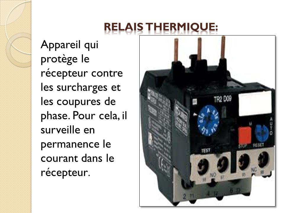 Relais thermique:
