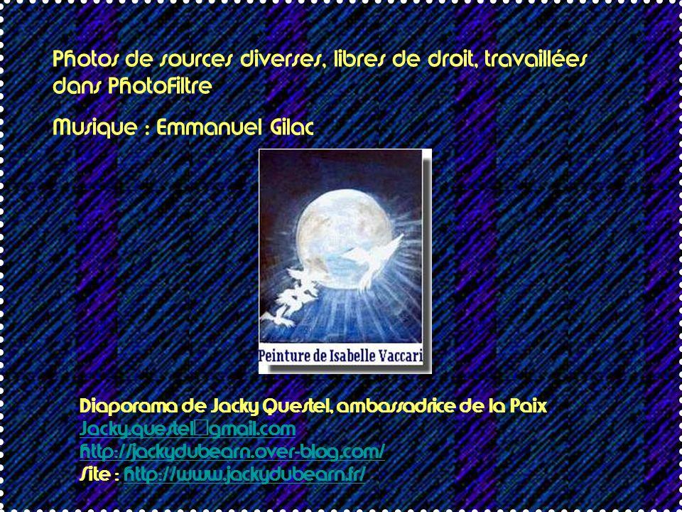 Musique : Emmanuel Gilac
