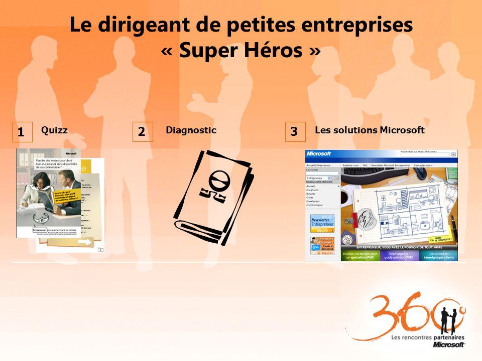 Le dirigeant de petites entreprises « Super Héros »