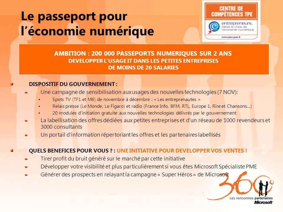 Le passeport pour l'économie numérique