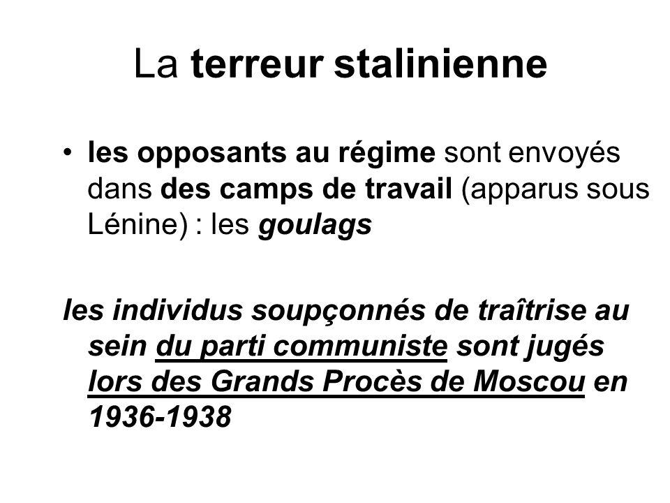 La terreur stalinienne