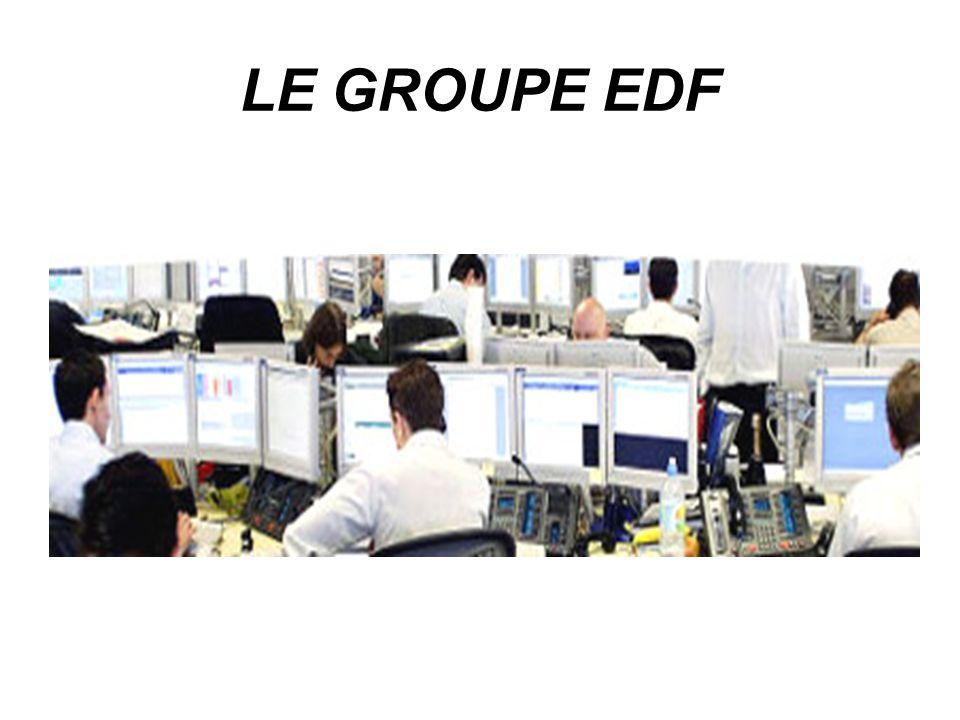 LE GROUPE EDF LE GROUPE EDF