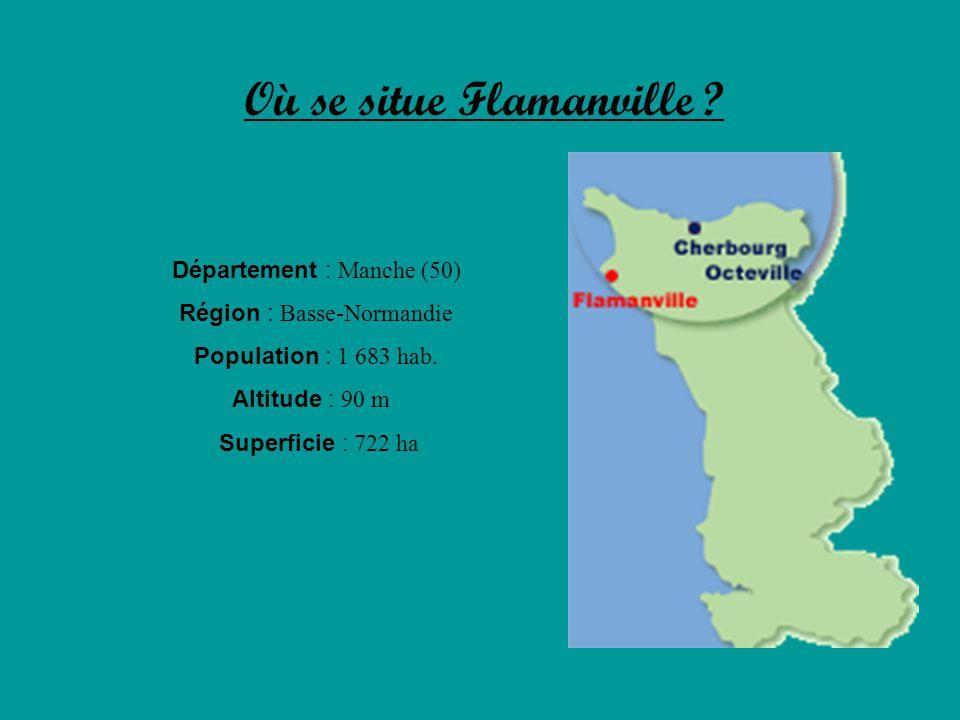Où se situe Flamanville