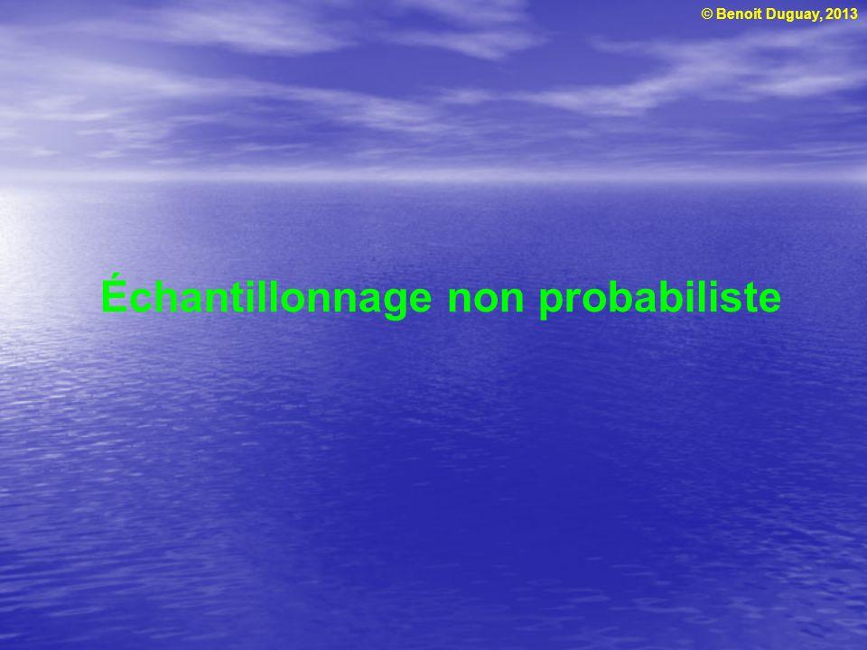 Échantillonnage non probabiliste