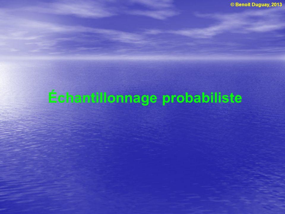 Échantillonnage probabiliste