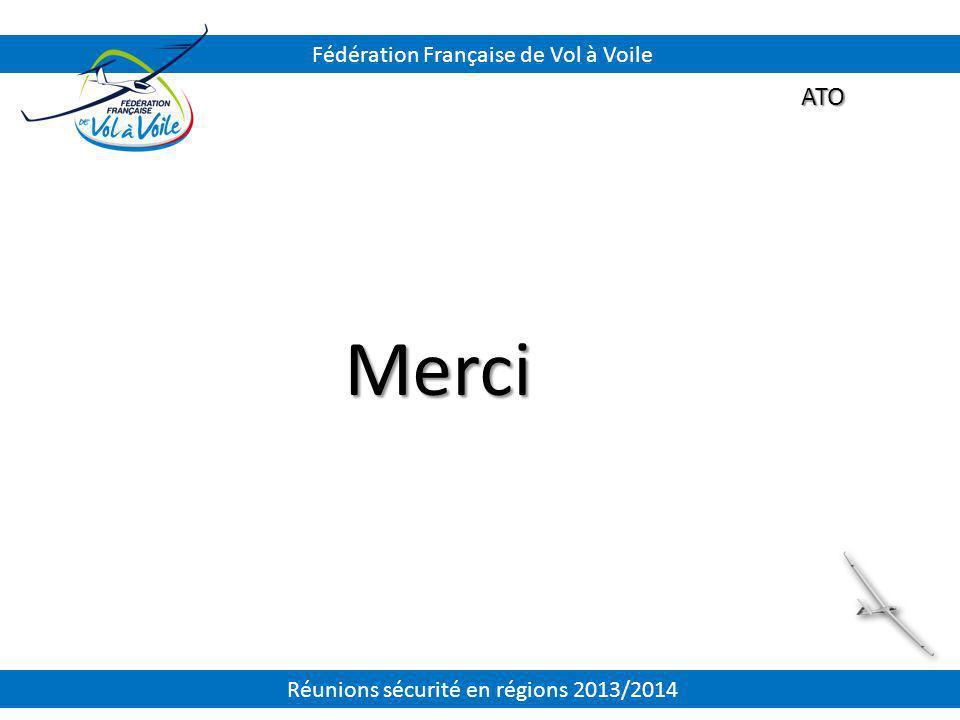 Merci ATO Fédération Française de Vol à Voile