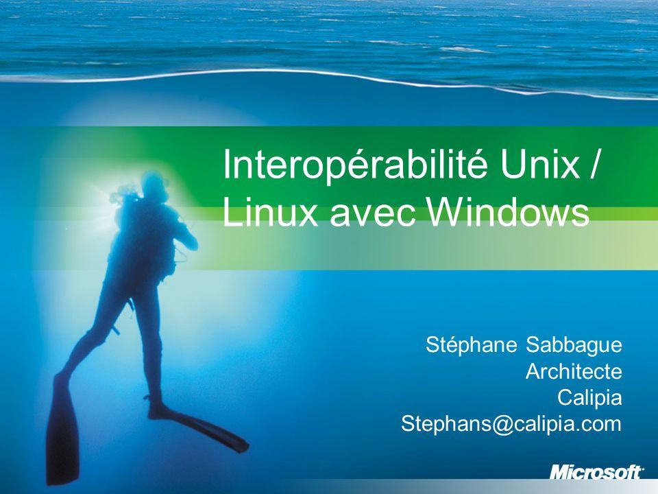 Interopérabilité Unix / Linux avec Windows