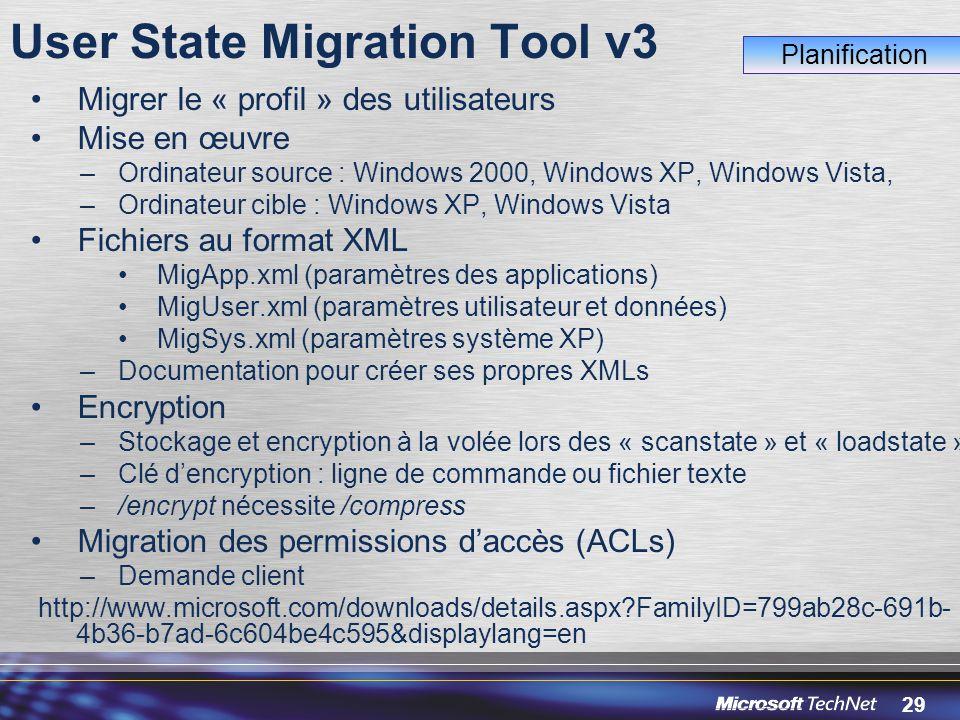 User State Migration Tool v3