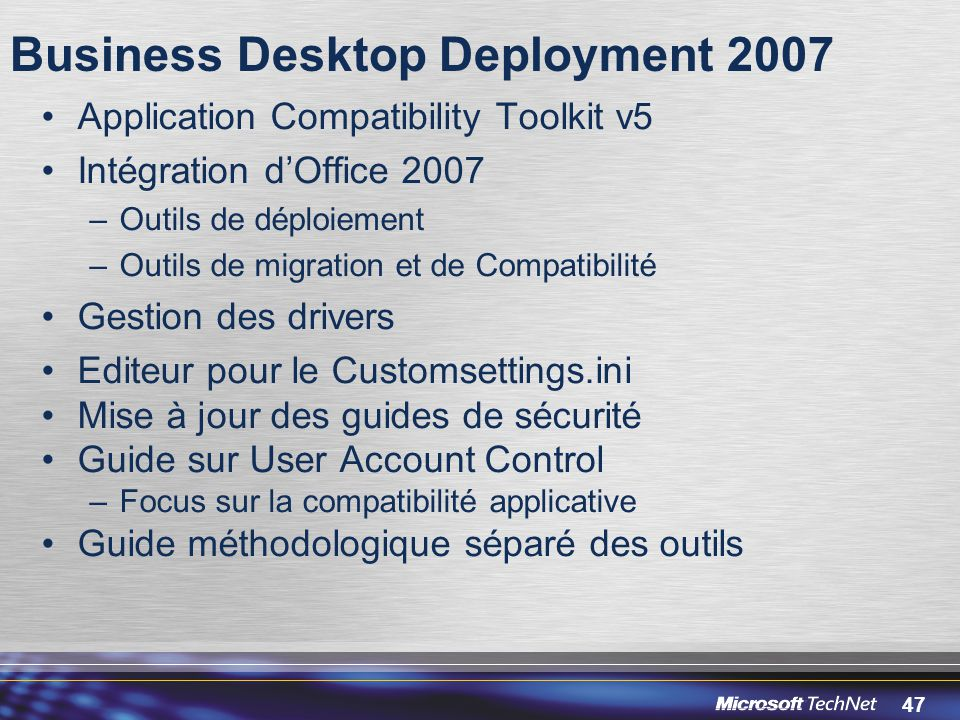 Business Desktop Deployment 2007