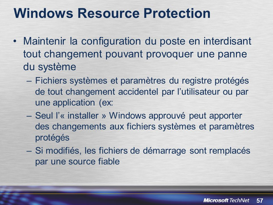 Windows Resource Protection