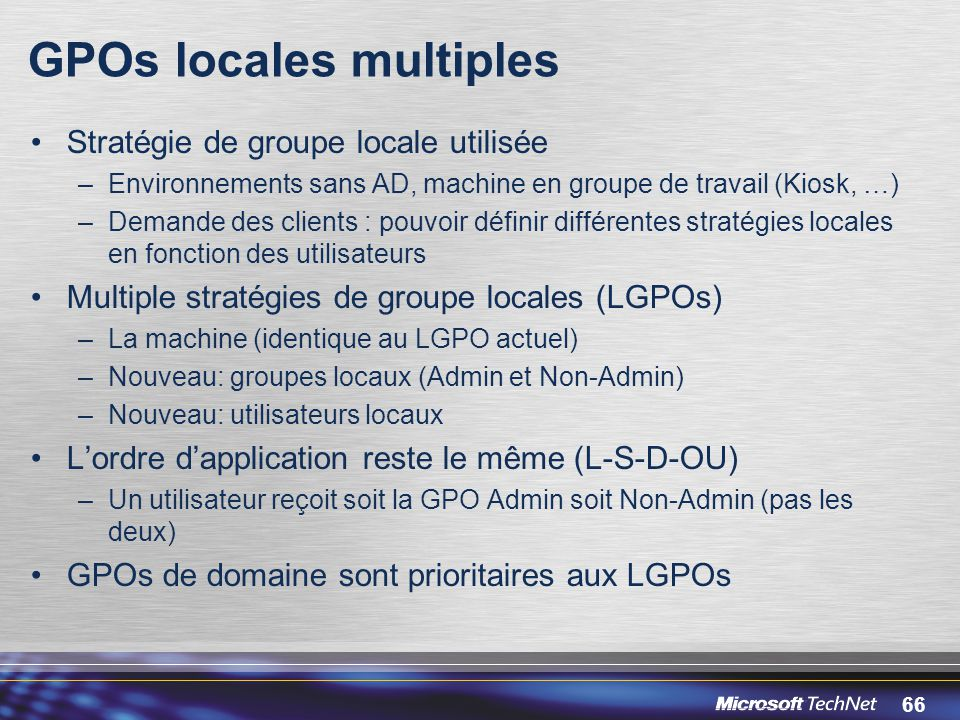 GPOs locales multiples