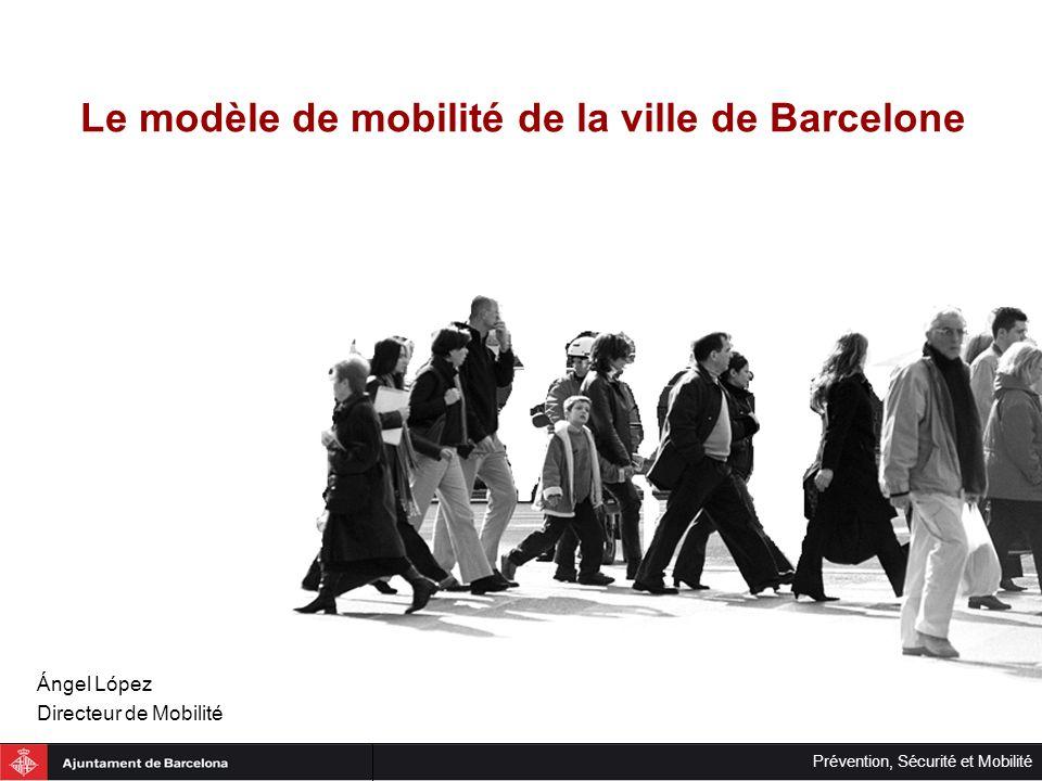 Le modèle de mobilité de la ville de Barcelone