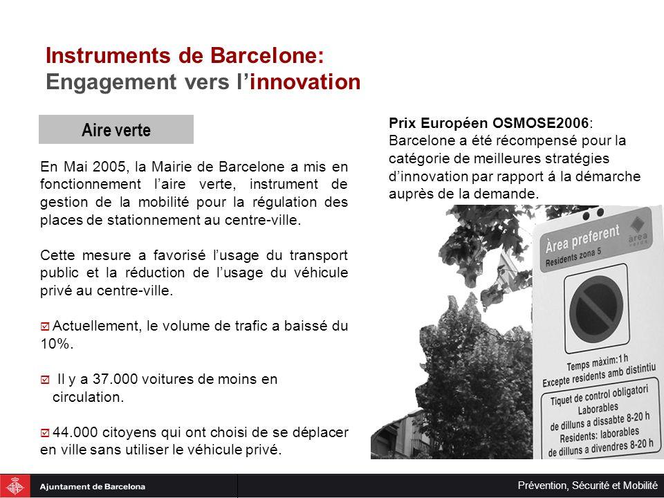 Instruments de Barcelone: Engagement vers l'innovation