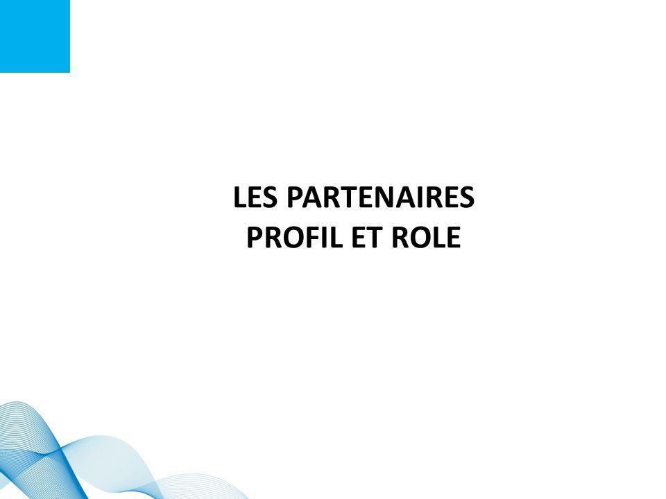 LES PARTENAIRES profil et role