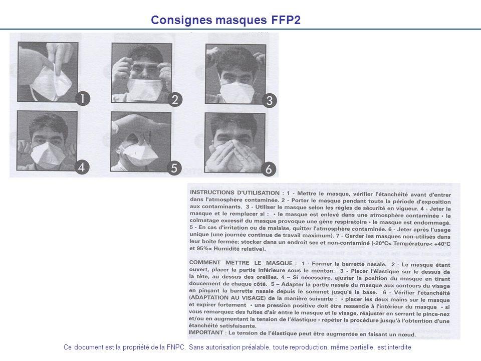 Consignes masques FFP2Ce document est la propriété de la FNPC.