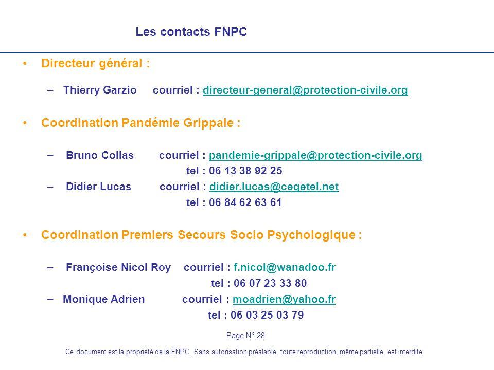 Coordination Pandémie Grippale :