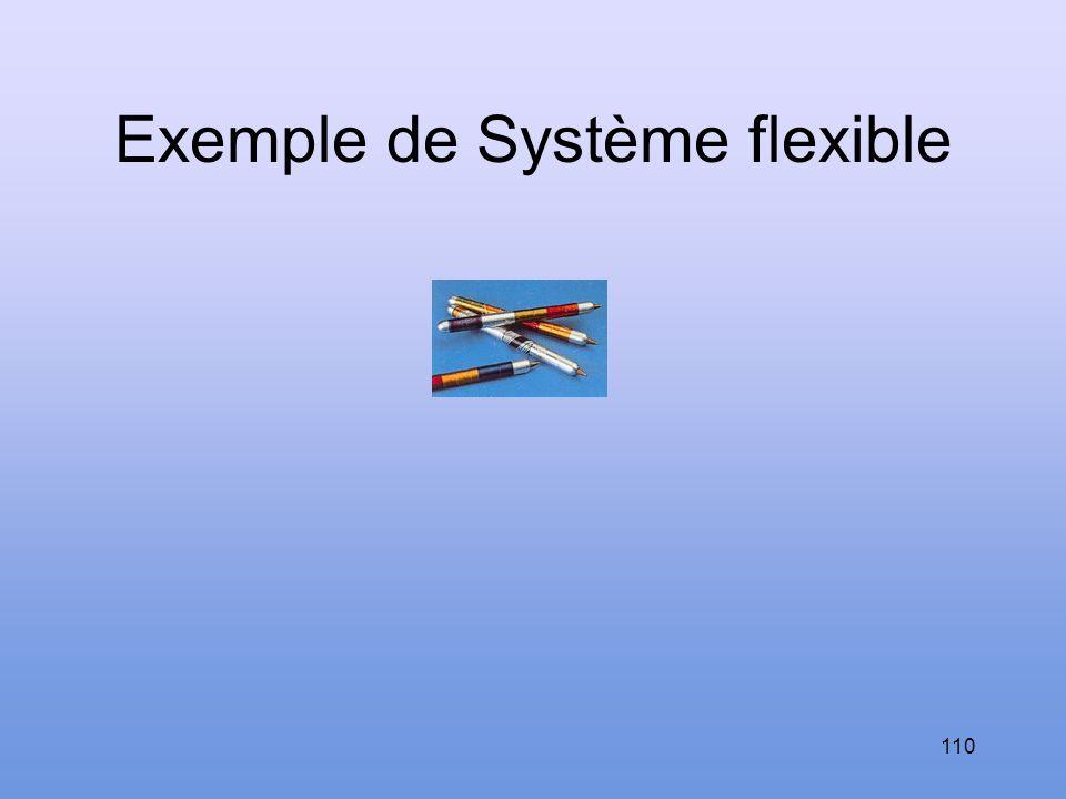 Exemple de Système flexible