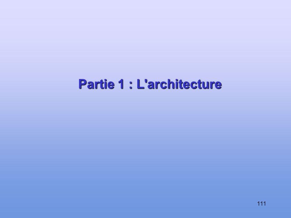 Partie 1 : L architecture