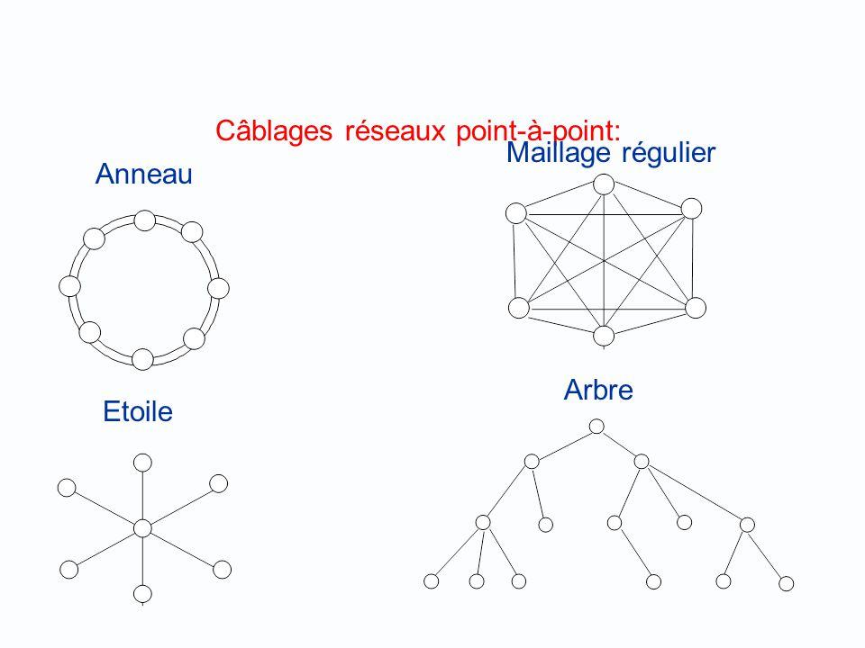 Câblages réseaux point-à-point: