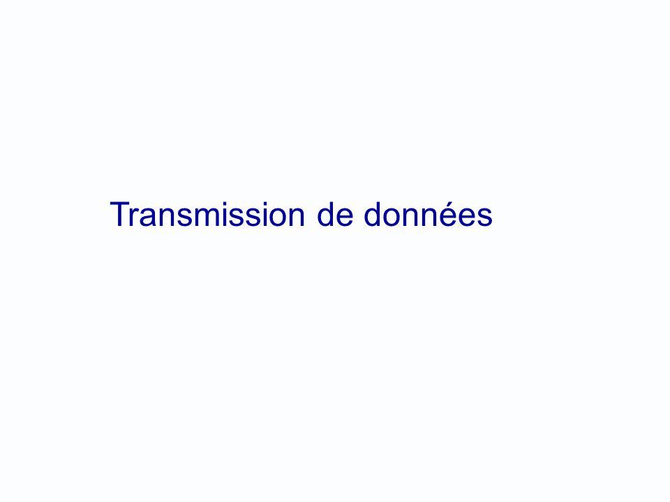 Transmission de données