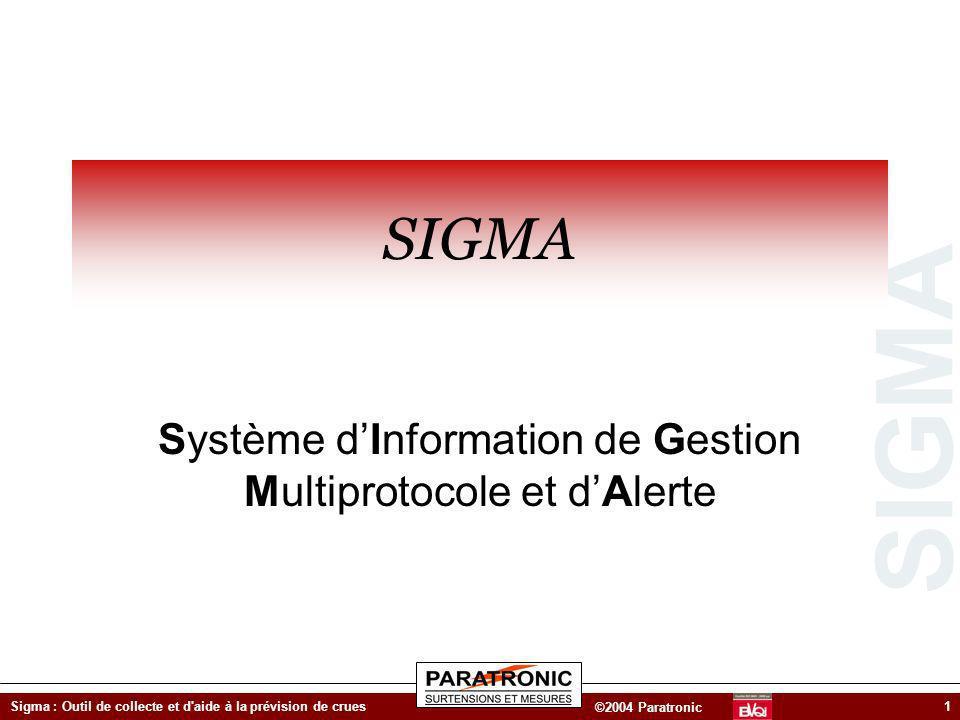 Système d'Information de Gestion Multiprotocole et d'Alerte