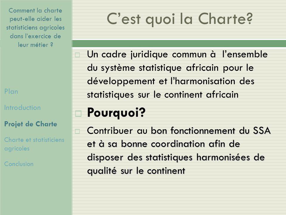 C'est quoi la Charte Pourquoi