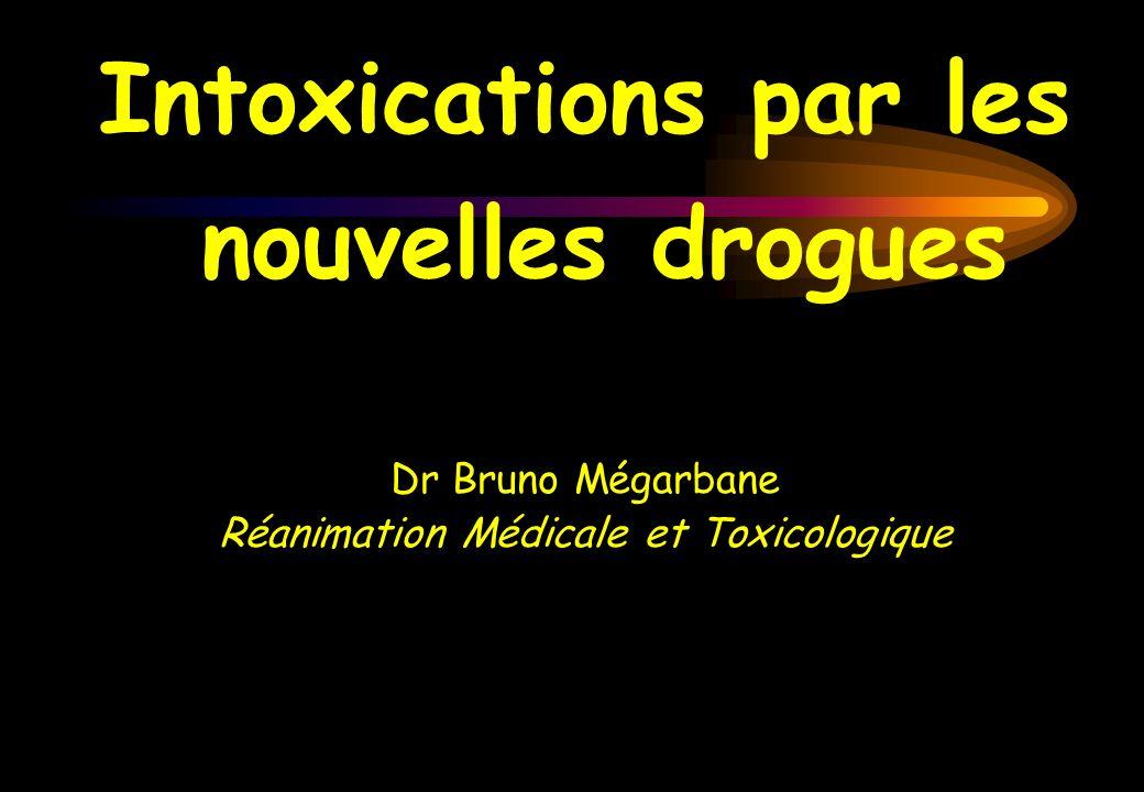 Intoxications par les nouvelles drogues