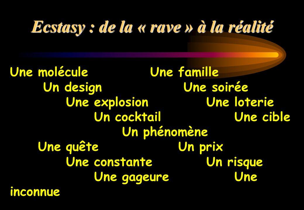 Ecstasy : de la « rave » à la réalité