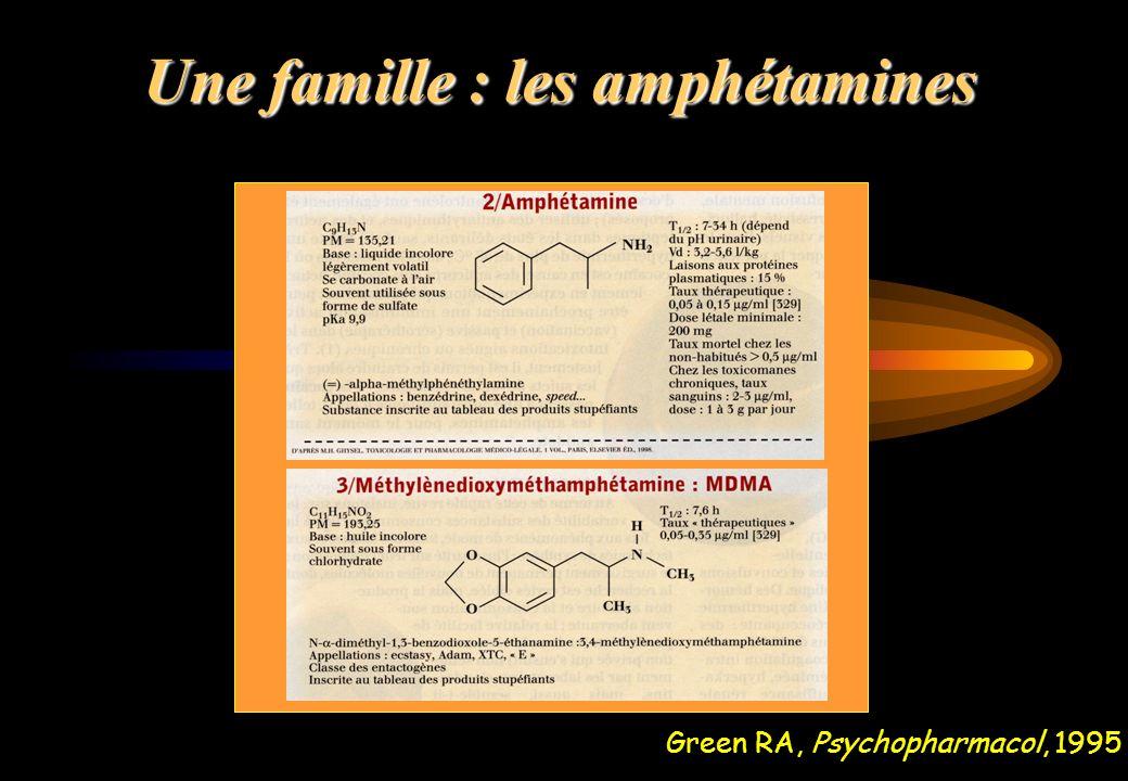 Une famille : les amphétamines