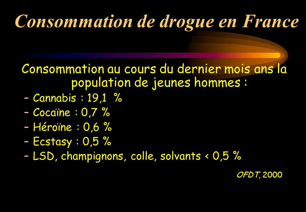Consommation de drogue en France