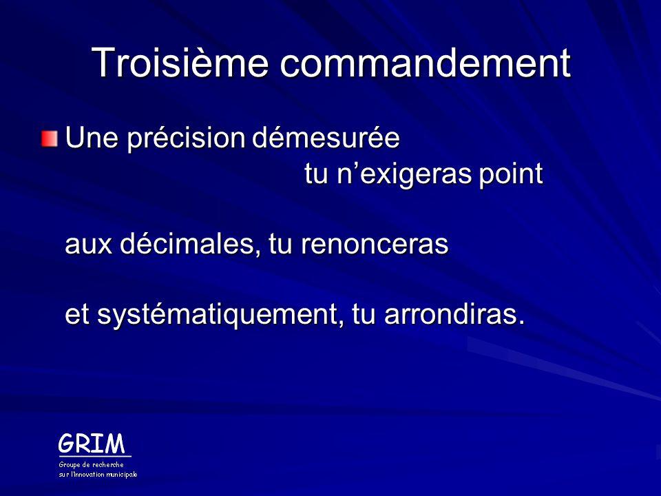 Troisième commandement