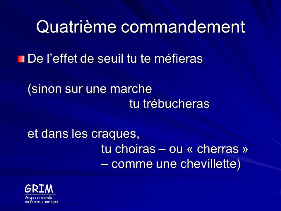 Quatrième commandement