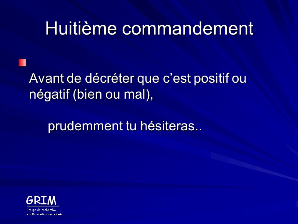 Huitième commandement