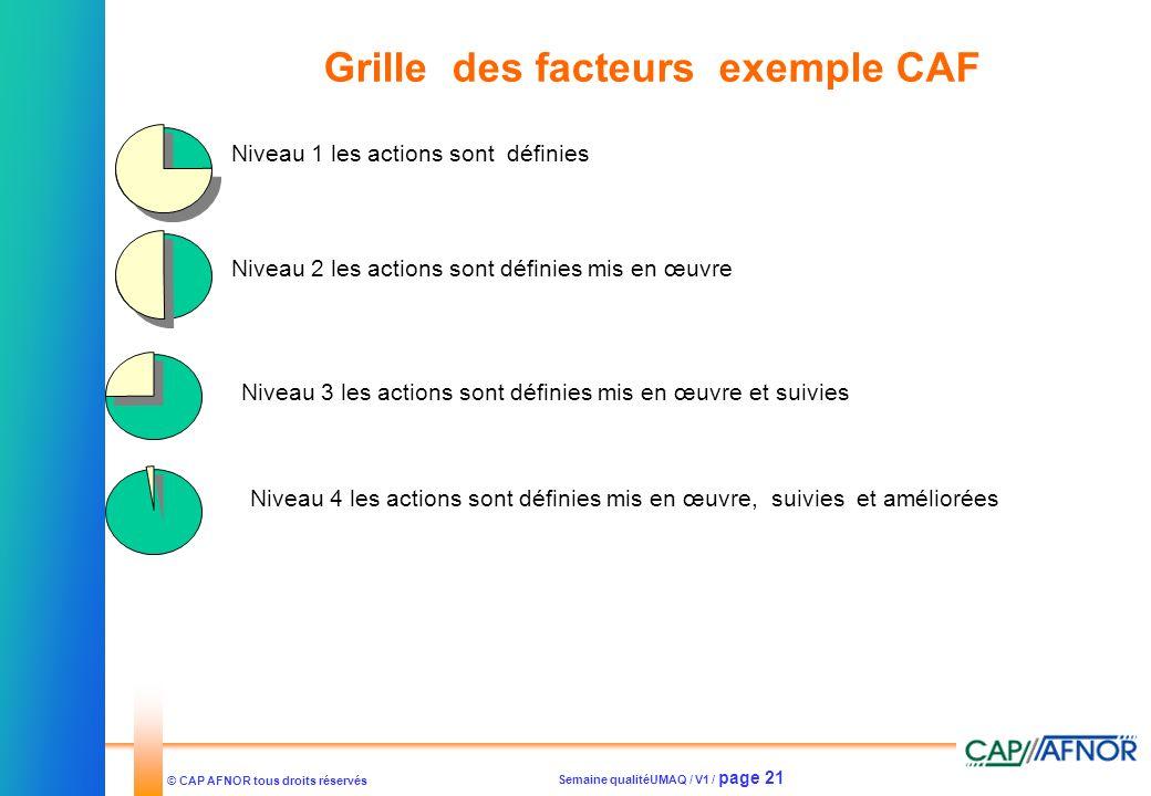 Grille des facteurs exemple CAF