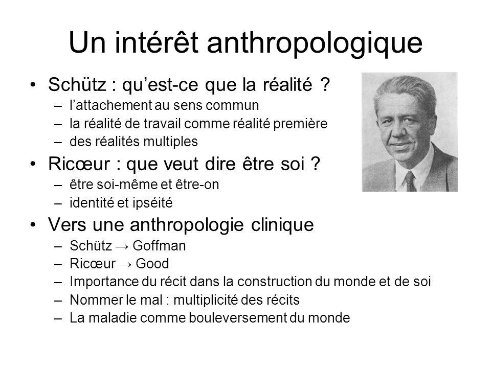Un intérêt anthropologique