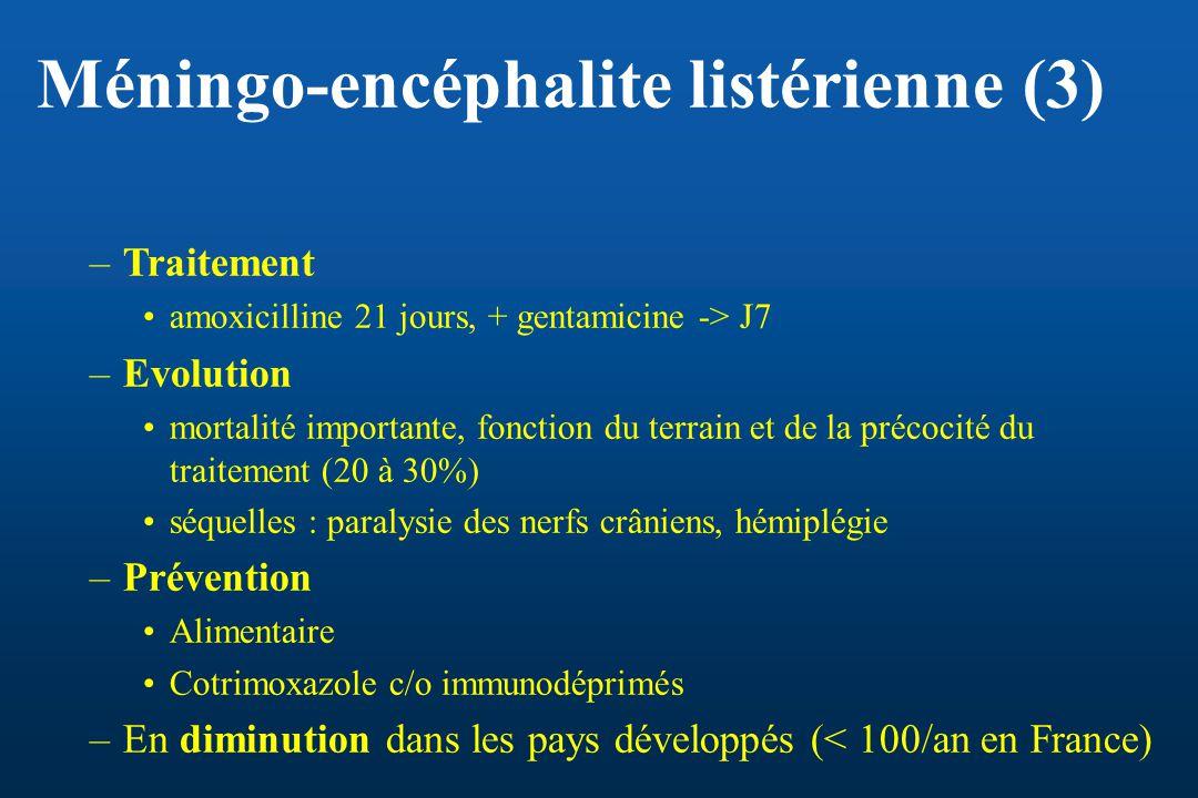 Méningo-encéphalite listérienne (3)