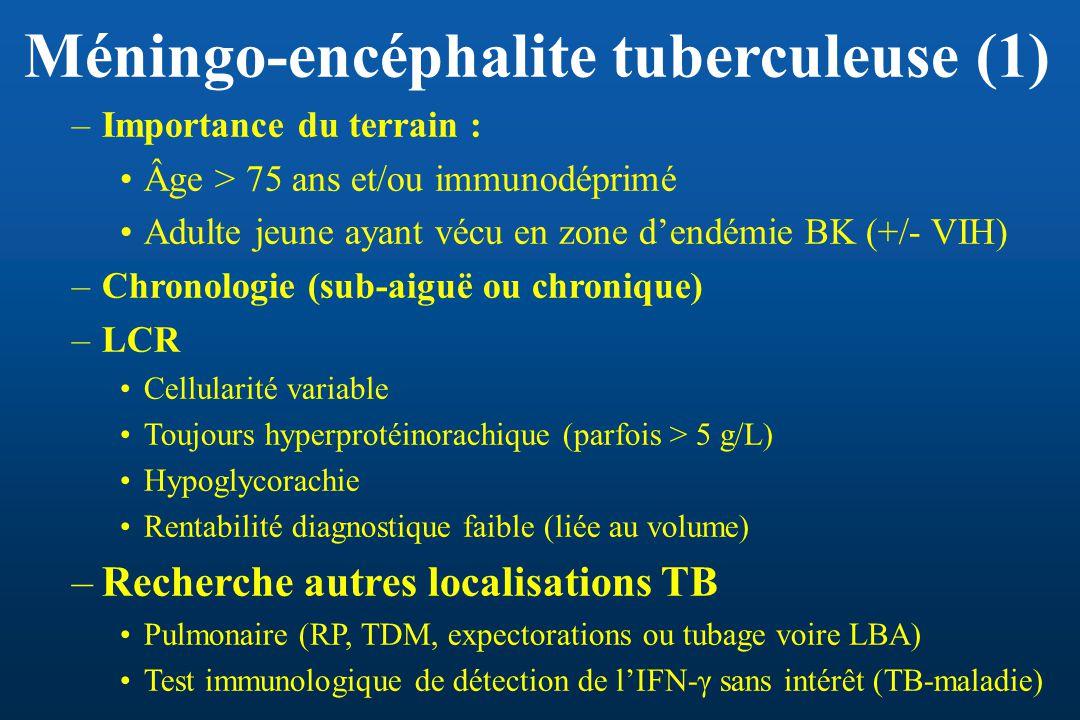 Méningo-encéphalite tuberculeuse (1)