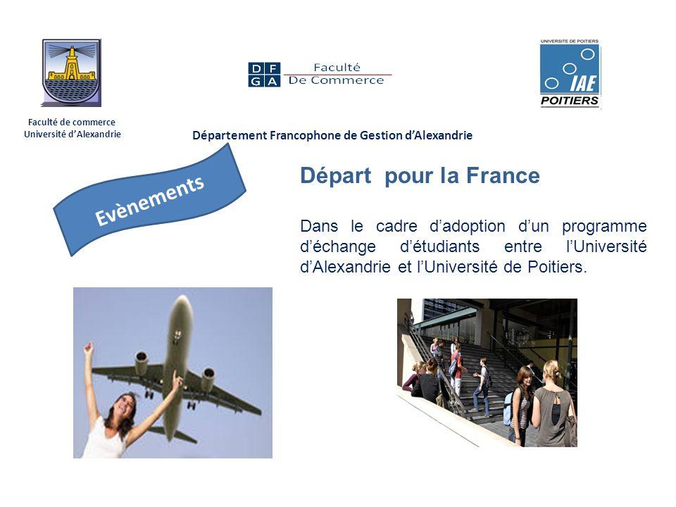 Département Francophone de Gestion d'Alexandrie