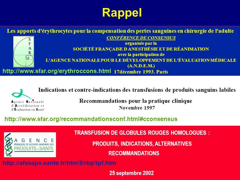 Rappel http://www.sfar.org/erythroccons.html