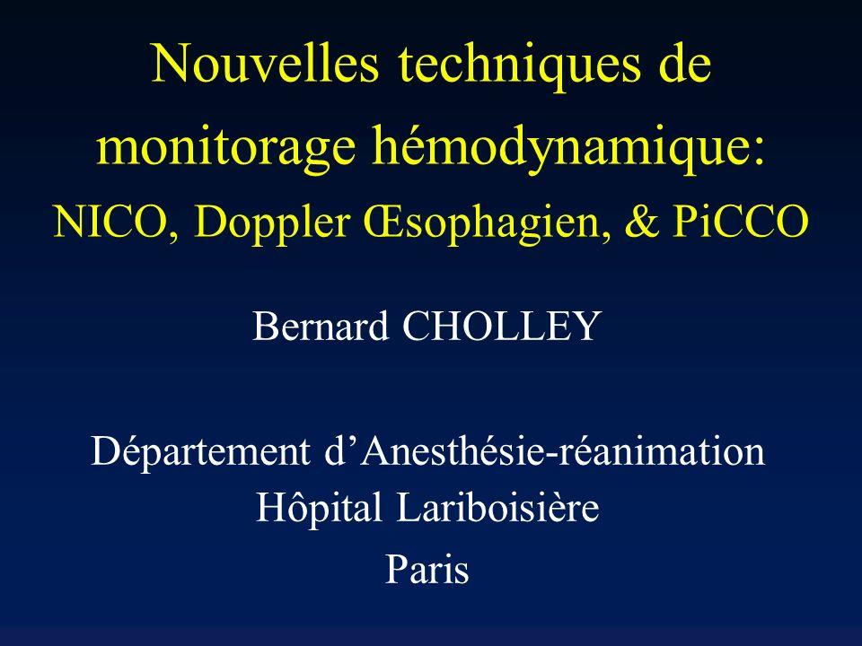 Département d'Anesthésie-réanimation