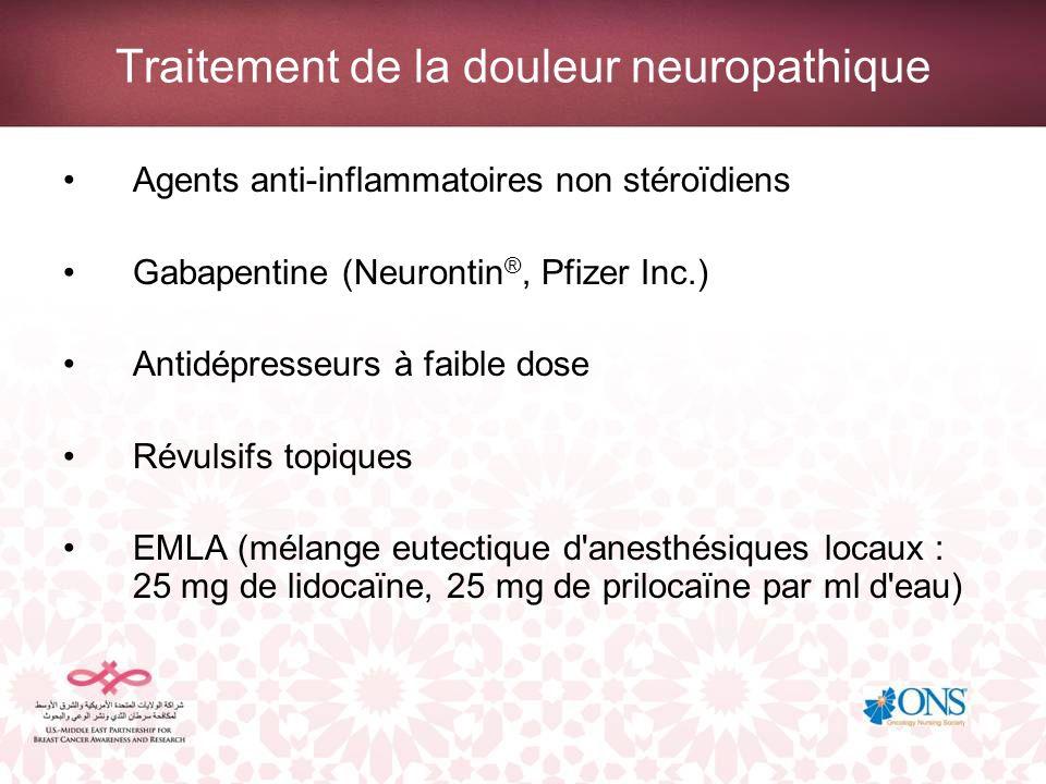 Traitement de la douleur neuropathique