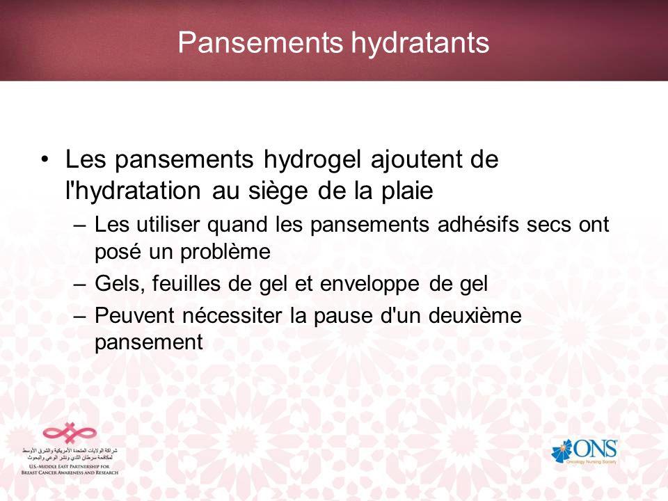 Pansements hydratants