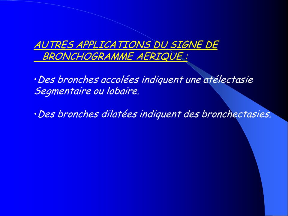 AUTRES APPLICATIONS DU SIGNE DE