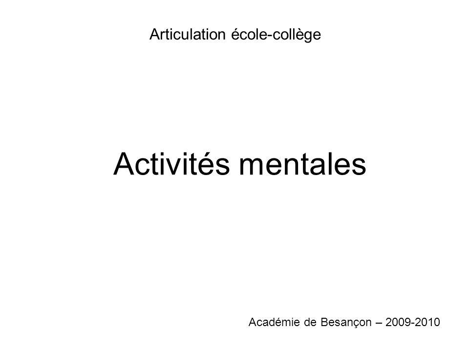 Articulation école-collège