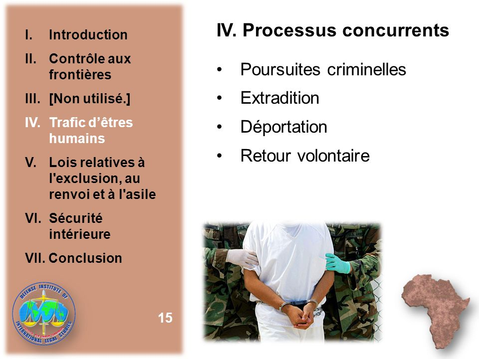 IV. Processus concurrents