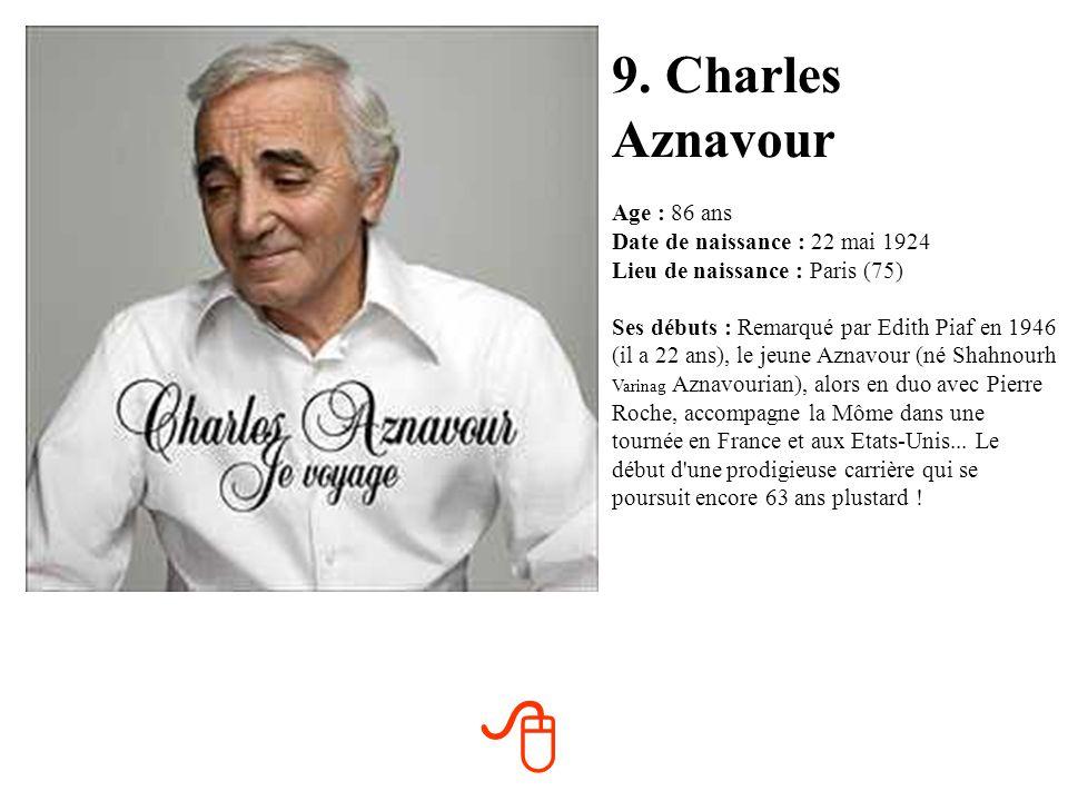 9. Charles Aznavour