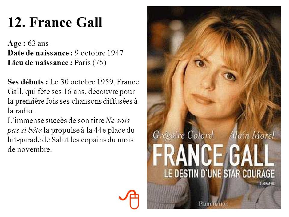 12. France Gall