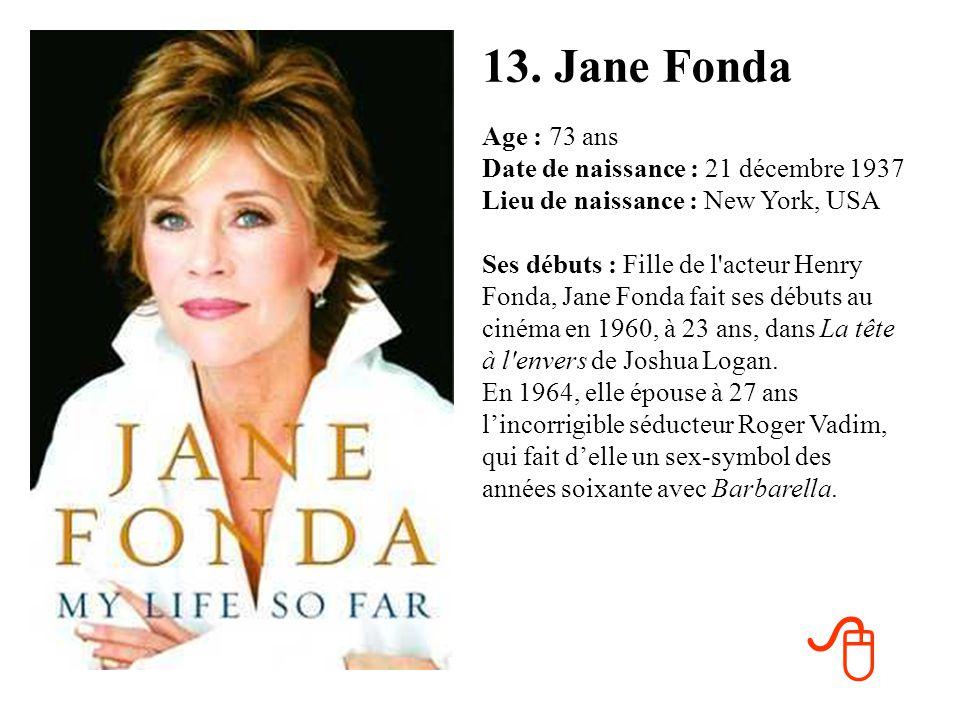 13. Jane Fonda