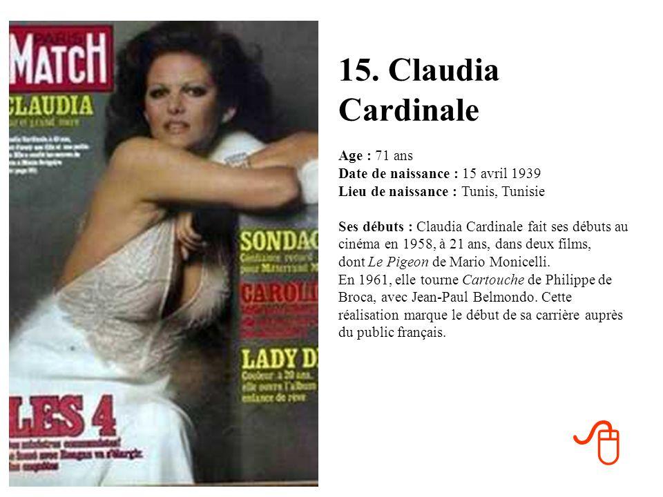 15. Claudia Cardinale