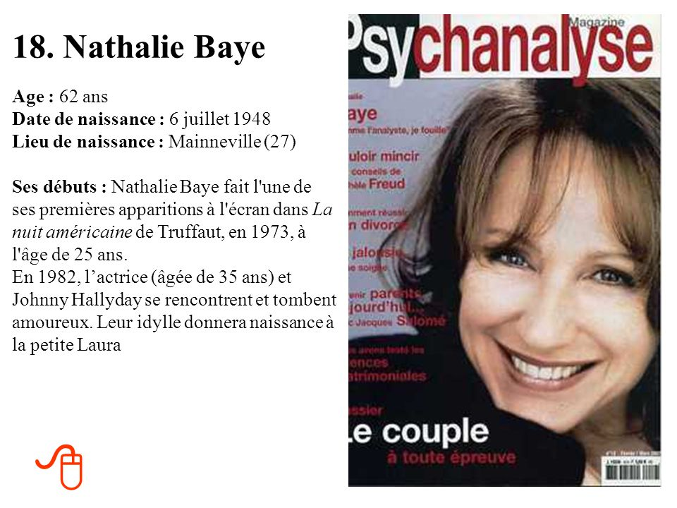 18. Nathalie Baye